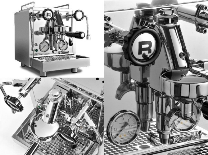 Rocket EspressoR58 Book Of Luxury